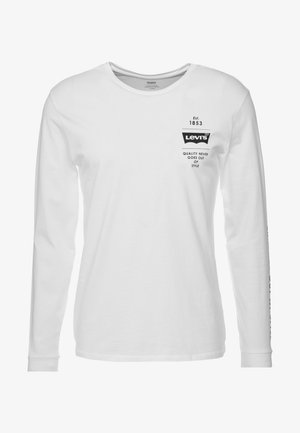 GRAPHIC TEE - Langærmede T-shirts - white