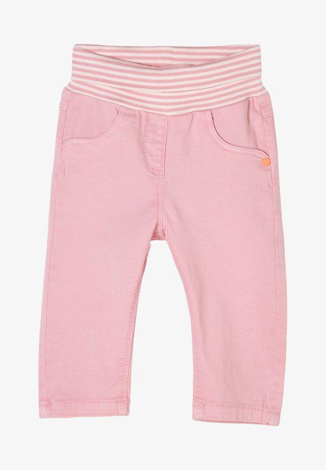 MET OMSLAGBAND - Broek - light pink