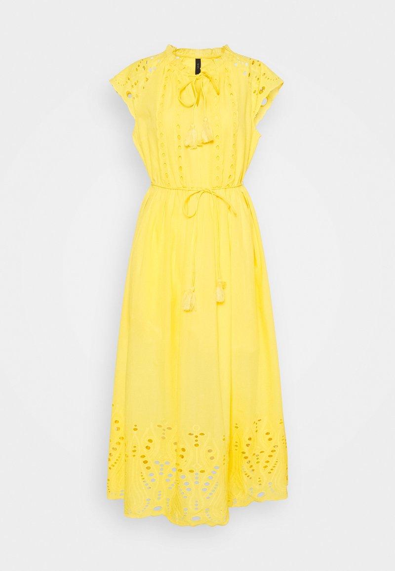 YAS - YASRIMO LONG DRESS - Maxi dress - pale marigold