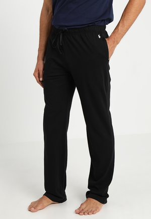 BOTTOM - Pyjama bottoms - polo black
