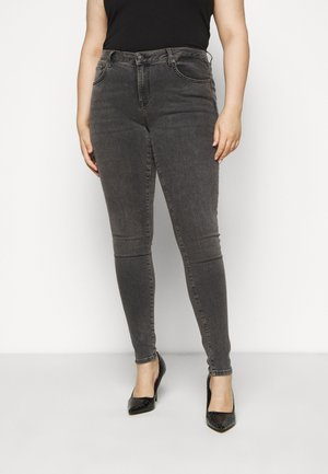 SLFINA SMOKE  - Jeans Skinny Fit - black denim