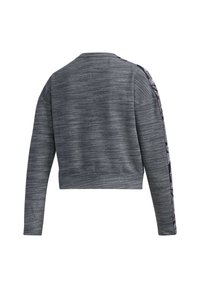 adidas Performance - Sweatshirt - dark grey heather/white - 9