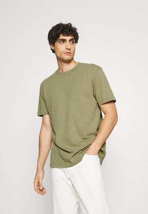 SLHRELAXHERB O NECK TEE - Basic T-shirt - aloe