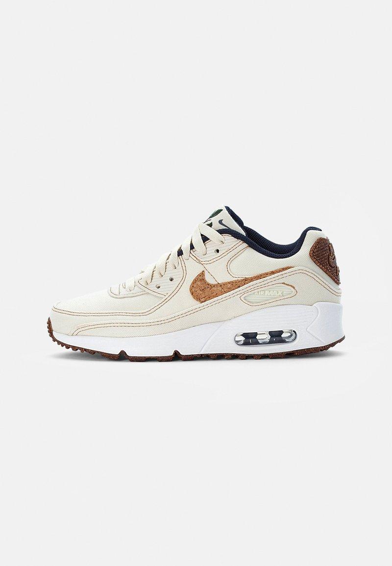Nike Sportswear - AIR MAX 90 SE UNISEX - Tenisky - coconut milk/wheat-obsidian-white