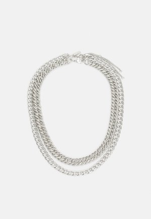 URBAN CHUNKY 2 PACK - Necklace - silver-coloured