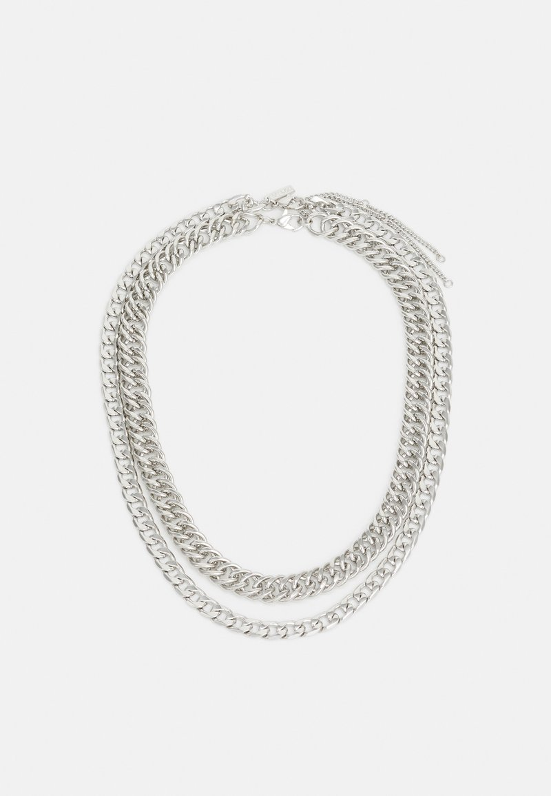 Topshop - URBAN CHUNKY 2 PACK - Ketting - silver-coloured