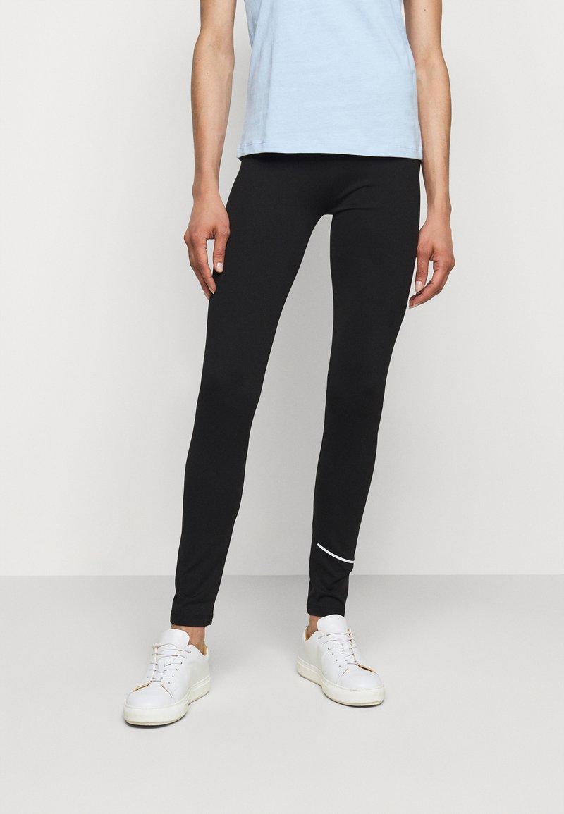 HUGO - NICAGO - Leggings - Trousers - black