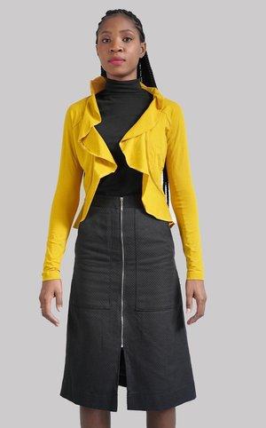 VOLANA - Blazer - yellow