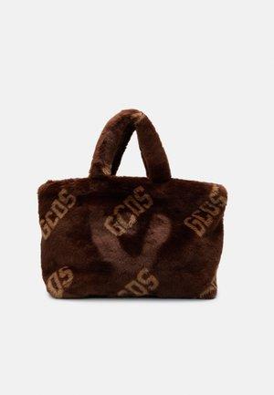 TOTE UNISEX - Tote bag - brown