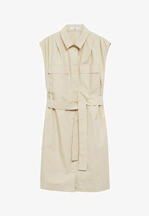 Skjortklänning - gris claro/pastel