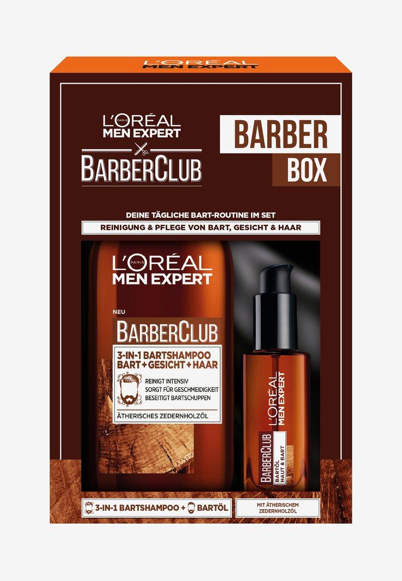 L'Oréal Men Expert - BARBER CLUB STANDARD COFFRET 2 PIECES - Skincare set - -