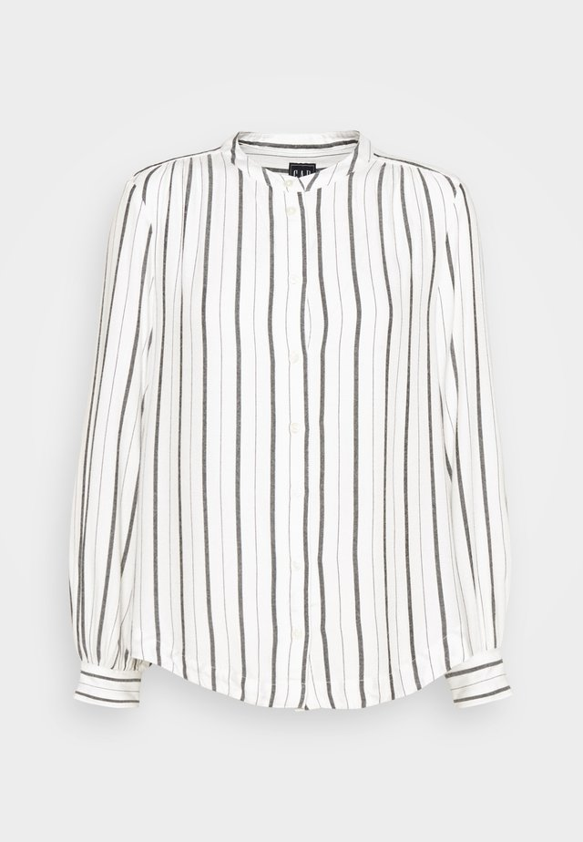SHIRRED - Overhemdblouse - black white stripe
