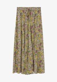 Mango - PALMA - Maxi skirt - green - 5