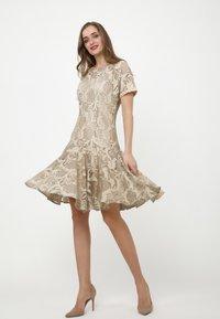 Madam-T - SACASA - Cocktail dress / Party dress - beige - 3