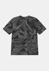 adidas Performance - TEE UNISEX - T-shirt print - black/white - 1