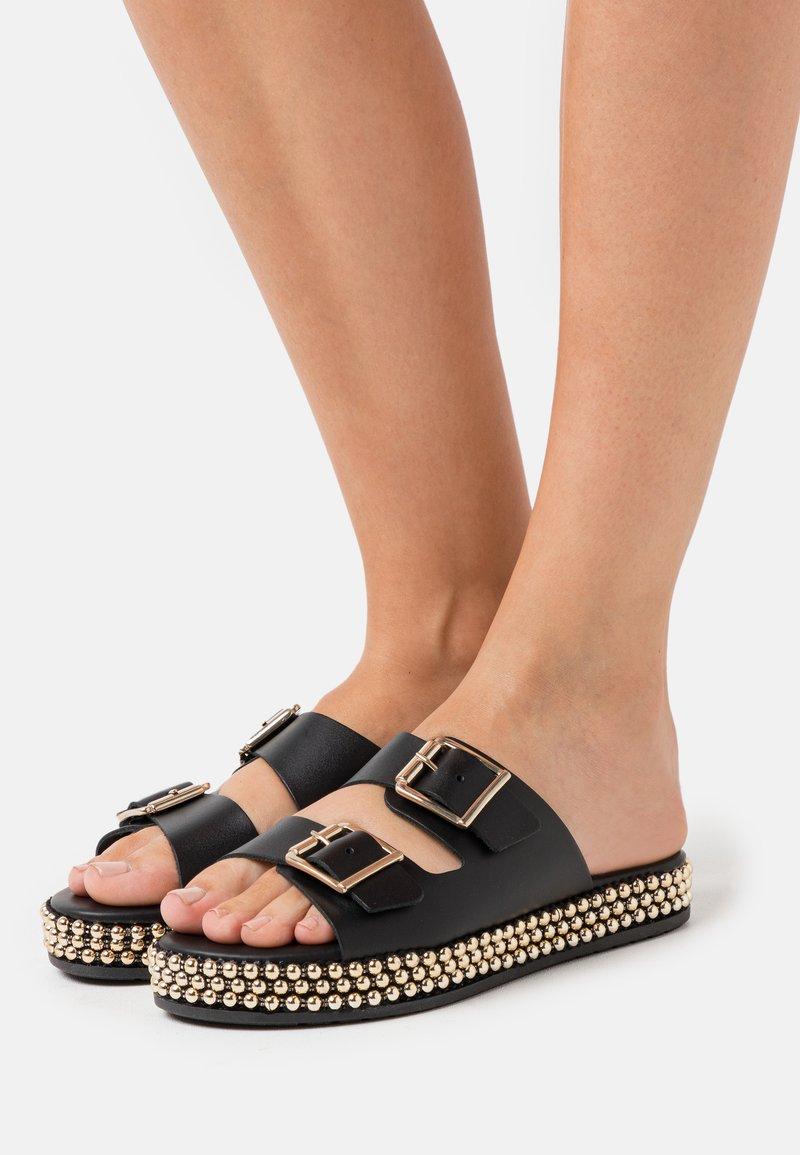 New Look - IDRIS - Pantofle - black