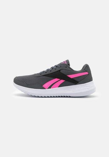 ENERGEN LITE - Zapatillas de running neutras - grey/electric pink/core black