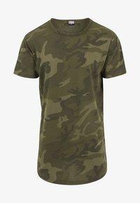 Urban Classics - Print T-shirt - olive - 4