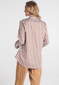 Eterna - Button-down blouse - braun weiß - 1