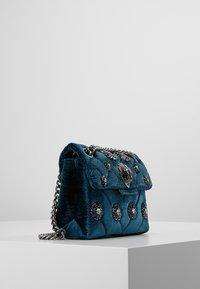 Kurt Geiger London - MINI KENSINGTON BAG - Across body bag - blue - 3