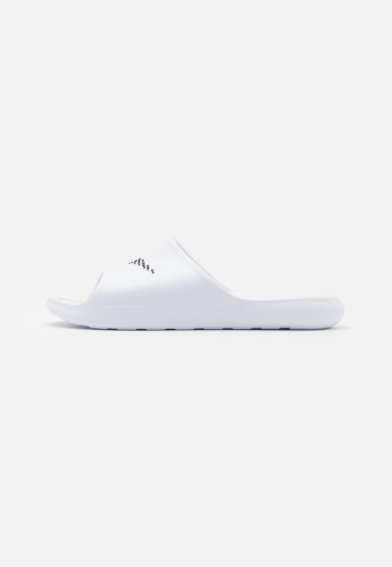 Nike Sportswear - VICTORI ONE SHOWER SLIDE - Pantofle - white/black