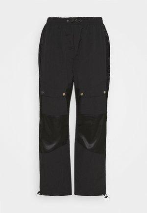 PLUS MIX WAIST TROUSER - Trousers - black