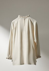 Massimo Dutti - MIT VOLANTS  - Blouse - white - 2