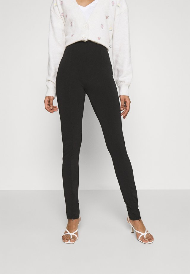 JADA SLIT - Legging - black