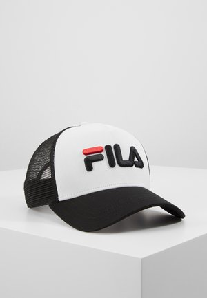 TRUCKER SNAP BACK - Kšiltovka - black/bright white