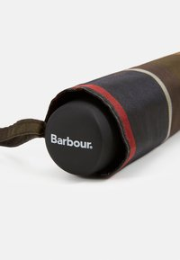 Barbour - PORTREE UMBRELLA - Umbrella - light brown/dark blue/olive - 4