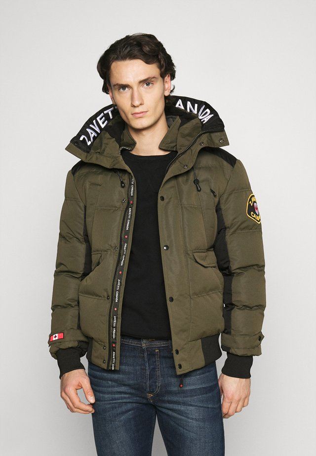 CANADA TURVO PUFFER - Winter jacket - khaki