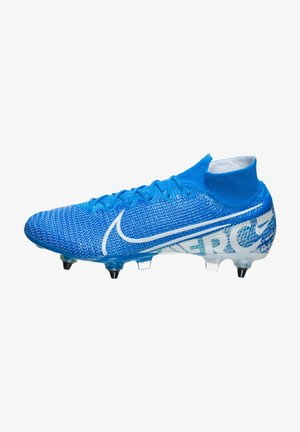 MERCURIAL - Screw-in stud football boots - blue hero/white/volt/obsidian