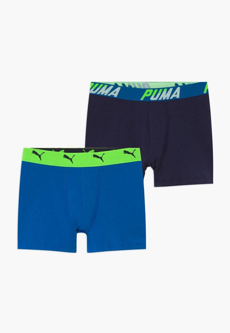 Puma - BASIC BOXER 2 PACK - Pants - blue