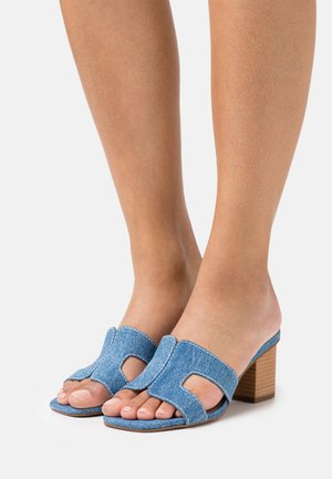 JUPE - Heeled mules - blue