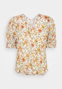 ONLY - ONLDAHLIA - Print T-shirt - creme brûlée - 4