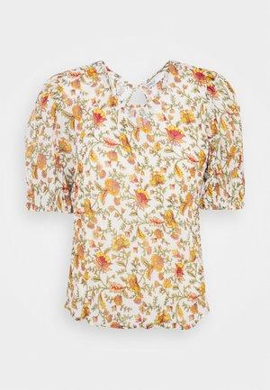 ONLDAHLIA - Print T-shirt - creme brûlée