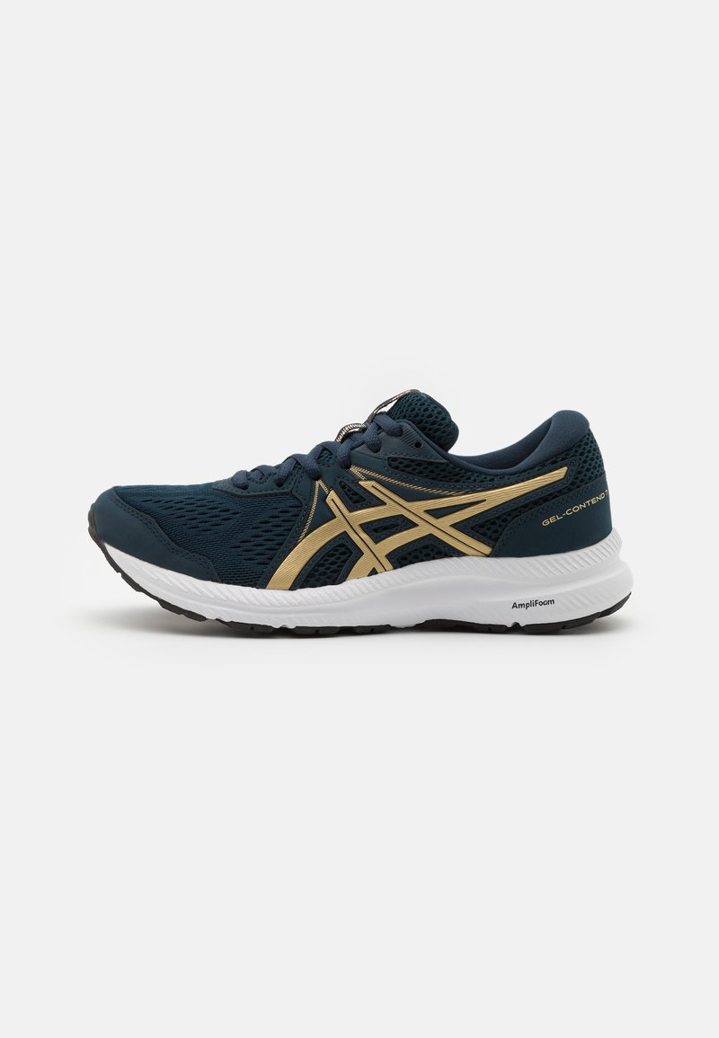 ASICS - GEL CONTEND 7 - Neutral running shoes - french blue/champagne