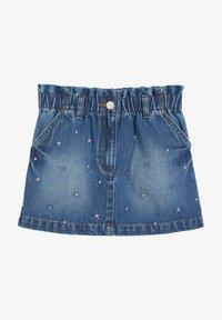 Next - Denim skirt - blue denim - 0