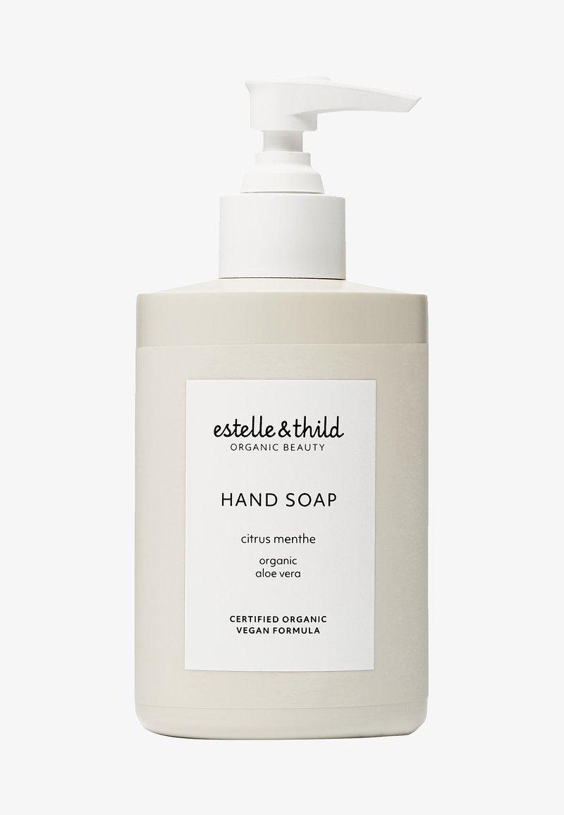 Estelle & Thild - CITRUS MENTHE HAND SOAP - Liquid soap - -