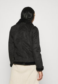 ONLY - ONLMARIA AVIATOR - Faux leather jacket - black - 2