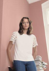 See by Chloé - Print T-shirt - white - 3