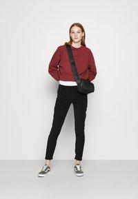 Topshop - JAMIE - Trousers - black - 1