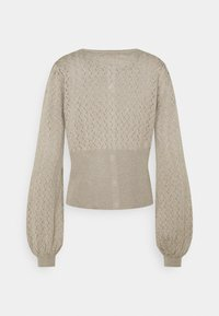 Bruuns Bazaar - ANEMONE MINNA CARDIGAN - Cardigan - beige - 1