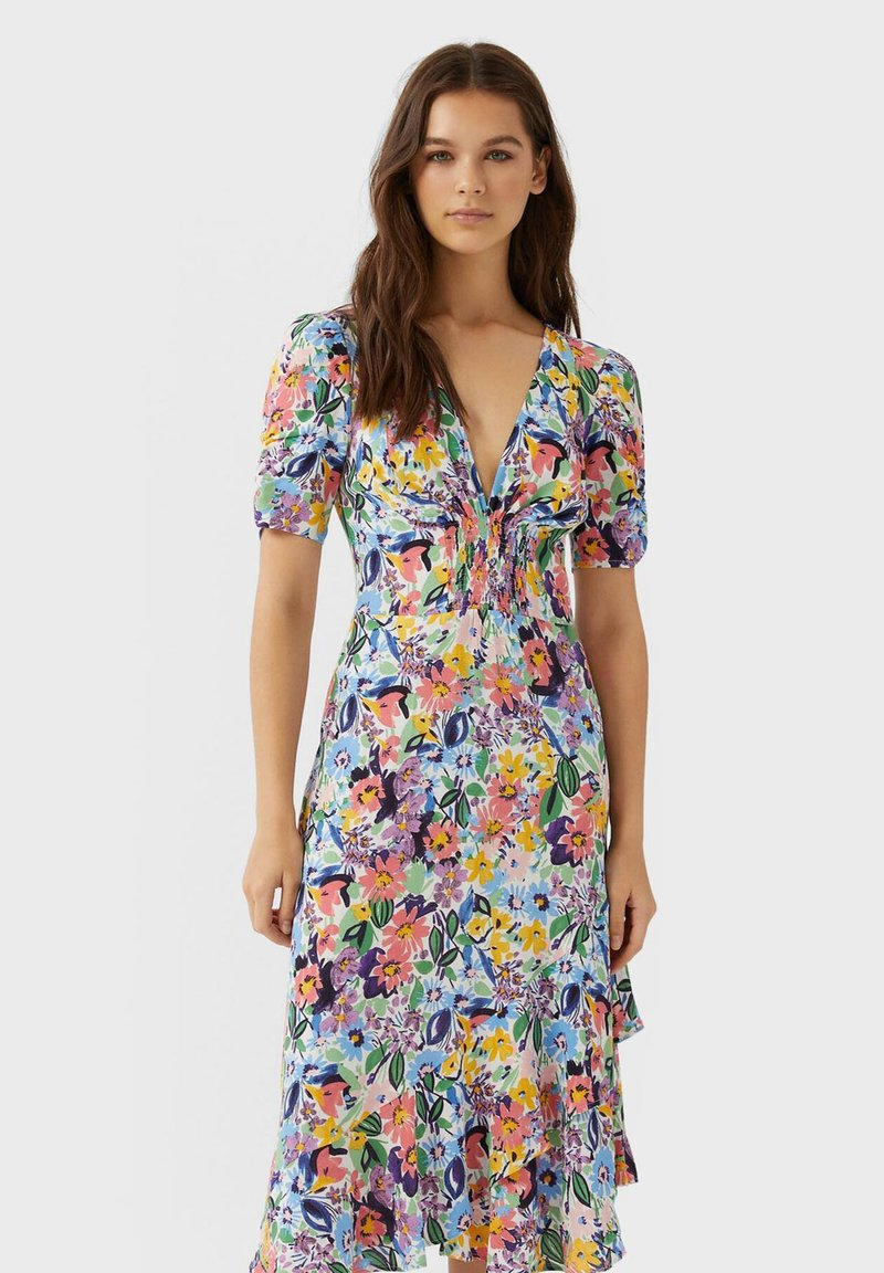 Stradivarius - VOLANT - Day dress - multi-coloured