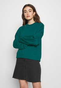 Even&Odd - BASIC OVERSIZE SWEATSHIRT - Bluza - teal - 0