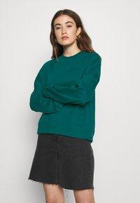 Even&Odd - BASIC OVERSIZE SWEATSHIRT - Sweatshirt - teal - 0