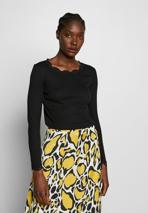HIZAMOND - Long sleeved top - black