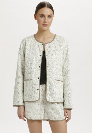 SLBANKS - Light jacket - viol print whisper white