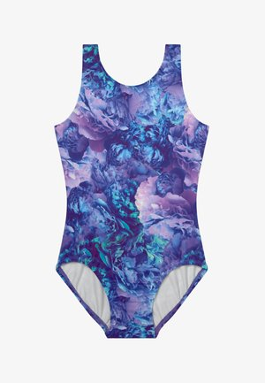 GIRLS DYMANI GYMNASTICS PRINTED LEOTARD - Leotard - purple