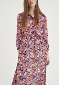 InWear - Shirt dress - pink flower field - 2
